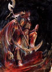 Alpharius by John Blanche