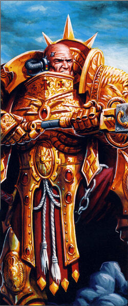 Horus Heresy Custodian Artulon
