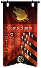 Legio Audax Warhound Princeps Banner