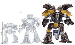 Warlord Titan Size Chart