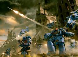 Ultramarines in Battle