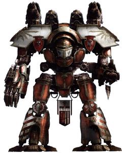 Dauntless Warlord Titan