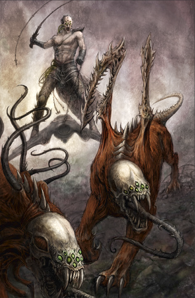 Image Drukhari Beastmasterpng Warhammer 40k Fandom Powered By