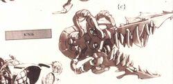 K'Nib artifact Xenology illustration