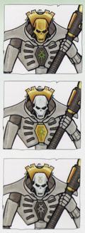 Necron Guard Lich 2