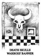 Death Skulls Warboss Banner