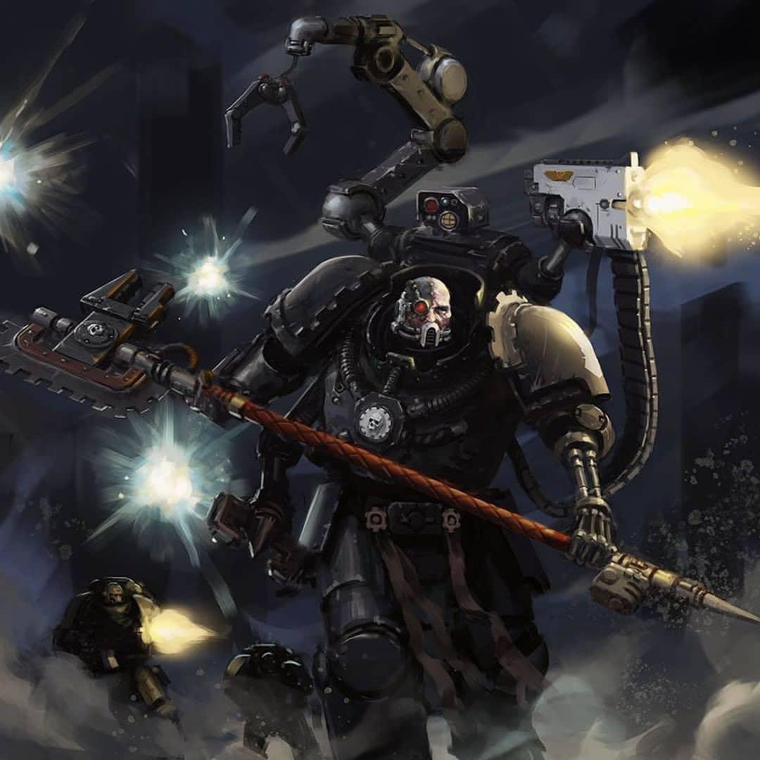 Warhammer 40K Codex Supplement Iron Hands