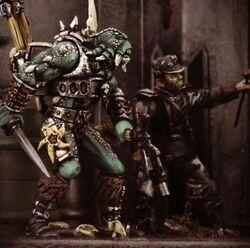 Krashrak Viskeon Inquisitor diorama