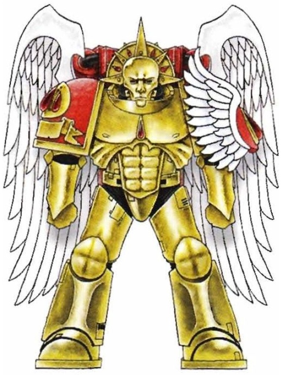 Warhammer 40k Space Marine Blood Angels Sanguinary Guard Angel Wings Back Pack