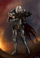 Warhammer40k sister of battle by jorsch