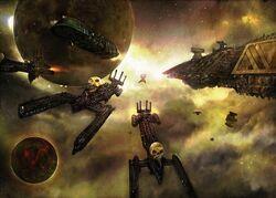 Chaos Fleet of Khorne