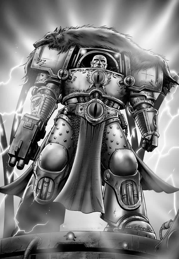 Space Marine héros aumônier et Terminator capitaine Horus Heresy 40k
