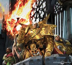 Rogal Dorn and Malcador