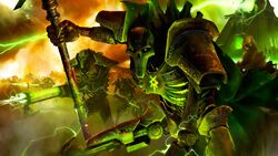 Necron Lord & Warriors