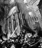 Предатели разрушают стены Императорского Дворца