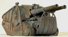509859-Death Korps of Krieg, Forge World, Minotaur, Tank, Weathered