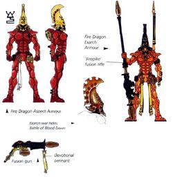 Fire Dragon wargear