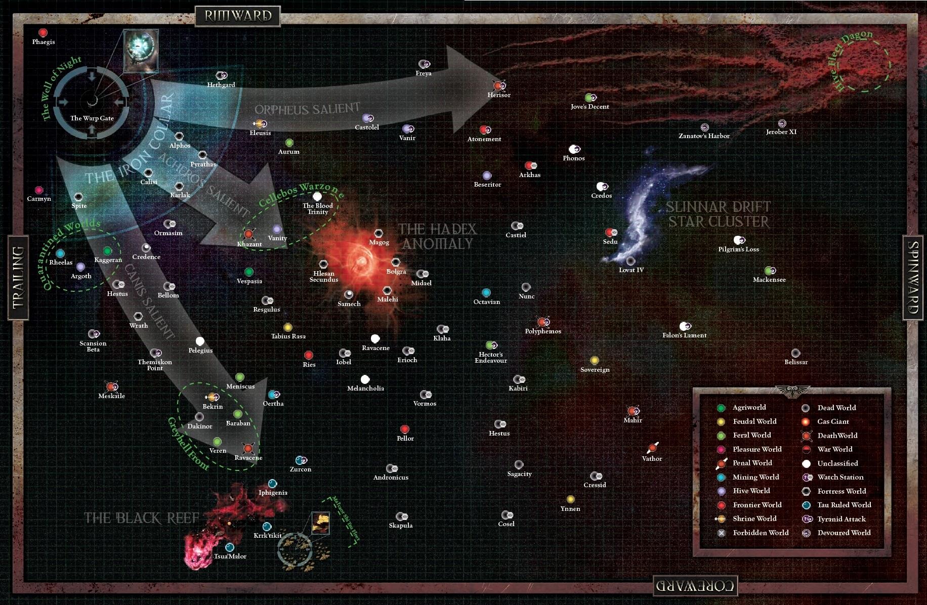 Jericho Reach Warhammer 40k