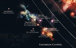 Endymion Cluster Map