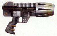 Ryza 'Sunspite' Pattern Plasma Pistol Salamanders