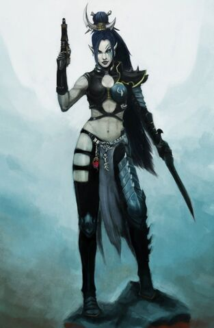 File:Dark eldar shyntafae by beckjann.jpg