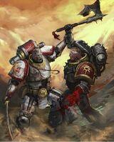 Fan Art, WS, Son of Horus, battle
