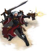 Sisters of battle celestian by ilacha