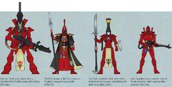 Ynnari Warriors