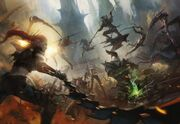 Dark Eldar vs Tyranids