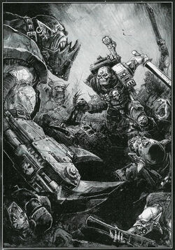Eversor Vs Orks