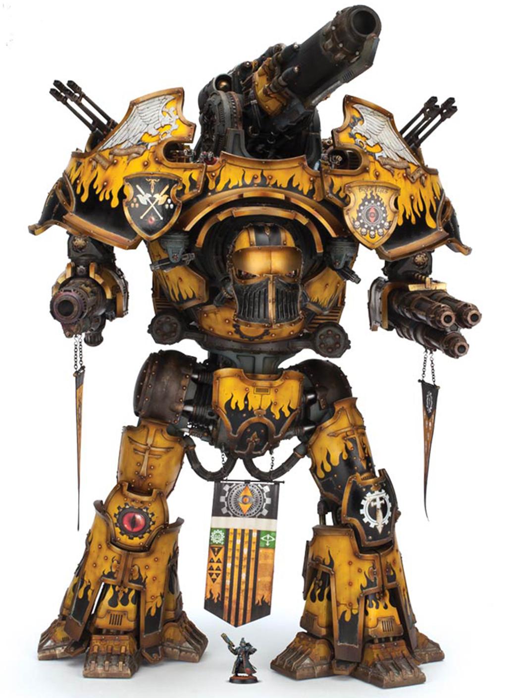 Warbringer Nemesis-class Titan | Warhammer 40k | FANDOM