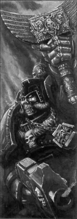 Chaplain Space Marine
