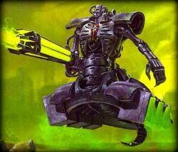 Necron Destroyer color