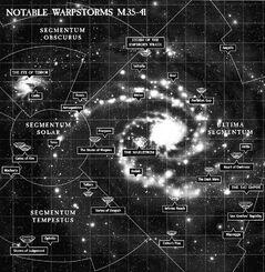 Notable warpstorms