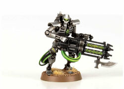 Immortal with a Gauss Blaster