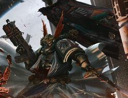 Supreme Grand Master Azrael combat