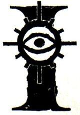 Adeptus astra telepathica symbol