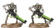 Miniature Necron Warriors