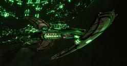 Necron Shroud Light Cruiser