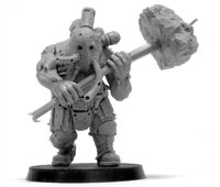 Ogryn Berserker with Post