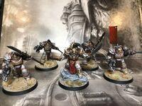 Qin Xa and Golden Keshig squad