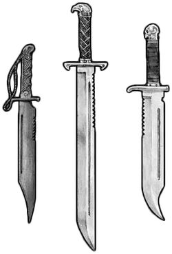 Catachan Combat Knives