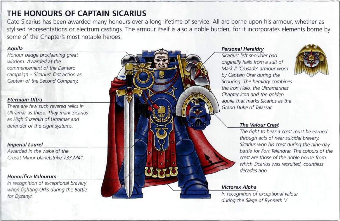 Honour Badges Space Marines Warhammer 40k Fandom Powered By Wikia