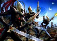 Ulthwe Black Guardians Storm Squad