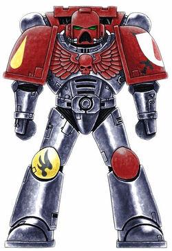 Knights of Blood Marine