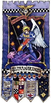 Ultramarines Banner