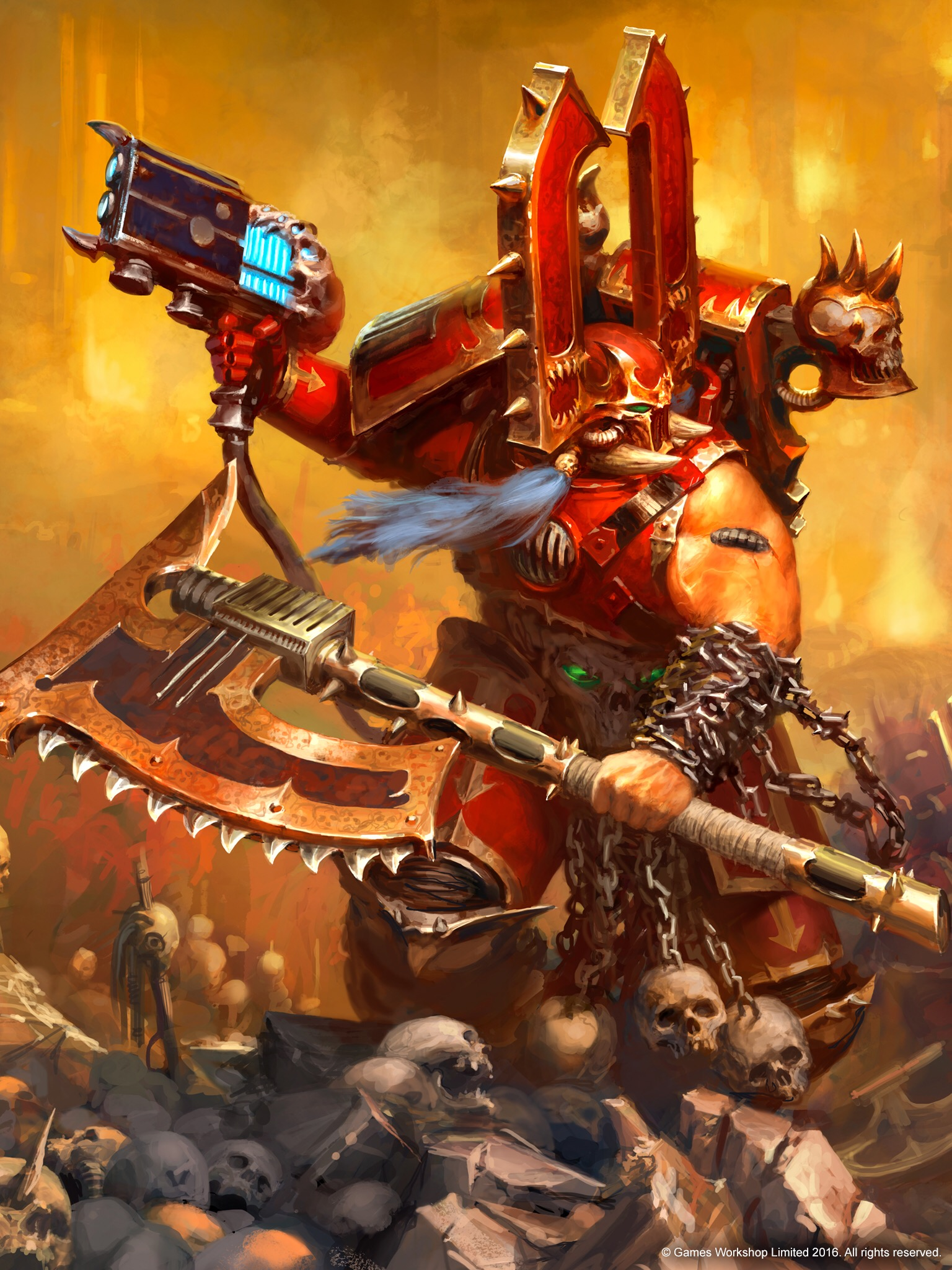 Warhammer 40K Chaos Space Marine KHARN THE BETRAYER Khorne Champion New