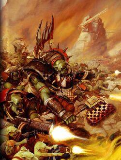Ork Mob Attacks