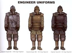 Krieg Engineer Uniforms