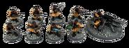 Steel Legion Squad Heavy Weapon Squad Miniature